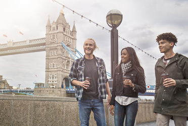 London Private Walking Tour including London Eye and Thames Cruise